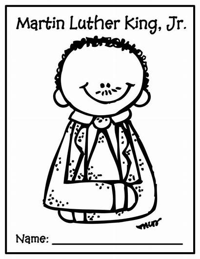 Luther Martin King Coloring Jr Pages Activity