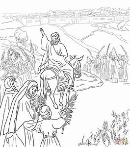 Jesus On Donkey Clipart Black And White U0026 Clip Art Images