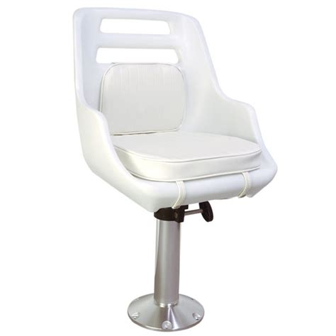 Boat Captains Chair With Pedestal by West Marine Skipper Chair And Pedestal Package West Marine