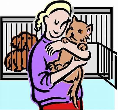 Clip Shelter Clipart Animal Volunteer Animals Rescue