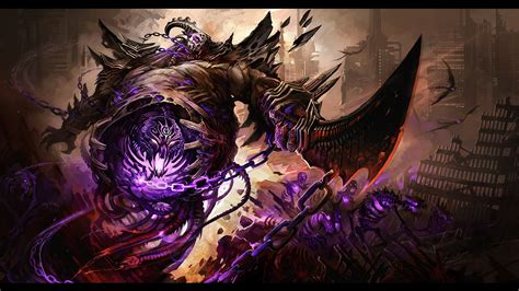 Dark Demon 4k Ultra Hd Wallpaper Background Image