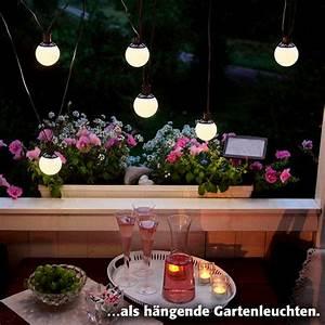 Lichterkette Balkon Sommer : led solar lichterkette big balls 6 teilig online kaufen ~ A.2002-acura-tl-radio.info Haus und Dekorationen