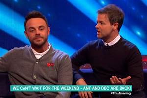 Ant and Dec involved in CRASH during Saturday Night ...