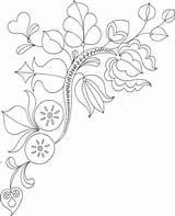 Bordar Riscos Blaetter Zweig Malvorlage Todaatual Supercoloring Colorare sketch template