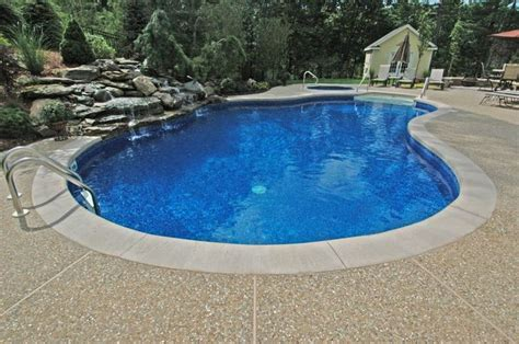 Resurface Aggregate Pool Deck by Exposed Aggregate Pool Decks Lagoon With Step Concrete