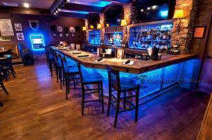 Log Cabin Kitchen Island Ideas by Bar Shelving For Home Amp Commercial Bars Led Lighted