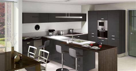 evier cuisine gris cuisine laquée par cuisinella