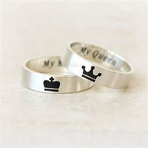 15 king and queen promise rings for wedding couples With gold king and queen wedding rings