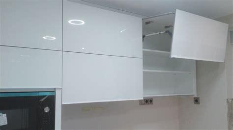 cocina luxe blanco  cristal lacobel extraclaro