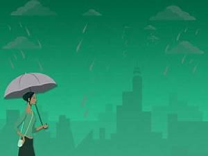 Mircosoft Office Templates Monsoon Rains 08 Powerpoint Templates