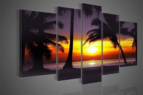 piece landscape paintings  canvas wall art beautiful