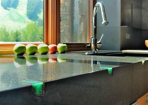 concrete countertops  prove  material suits
