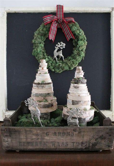 ideas    add wood slice decorations   cozier