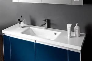 Des meubles vasque de petite profondeur inspiration bain for Meuble salle de bain profondeur 38