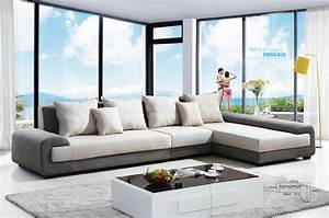 Livingroom design white ceramic flooring sofa living room for Sectional couch living room layout