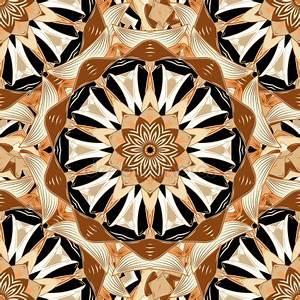 Verspielter Floraler Design Stil : vektor floral bunt mandala sch nes design element im ethnischen stil arabisch indischen ~ Watch28wear.com Haus und Dekorationen