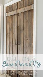 double pantry barn door diy under 90 bifold pantry door diy With barn wood bifold doors