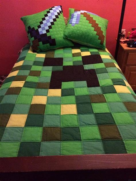 Minecraft Bedding Target by Related Keywords Suggestions For Minecraft Bedspread