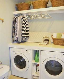 Love, The, Built, In, Shelves, Between, The, Washer, And, Dryer