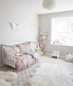 ELLA'S SOFT PINK AND GOLD TODDLER ROOM — WINTER DAISY
