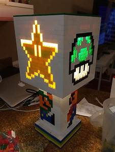 Light Tower Images Impressive But 2 200 Light Up Lego Super Mario Lamp