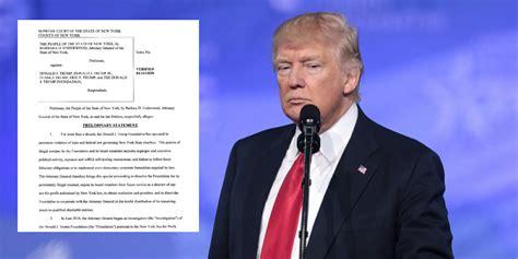 trump attorney general foundation york cc sues