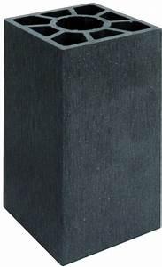 Wpc Platten Günstig : wpc pfosten 9x9x200cm anthrazit 44957 sichtschutz g nstig ~ A.2002-acura-tl-radio.info Haus und Dekorationen