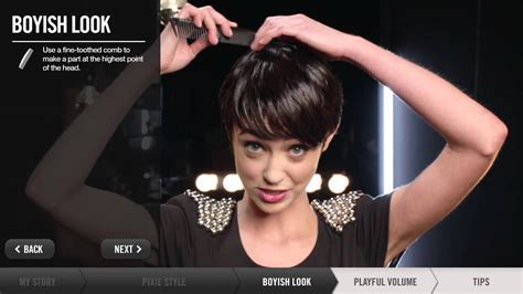 How To Create Short Hairstyles   Pixie, Boyish, Playful