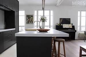 davausnet cuisine americaine moderne avec des idees With salle À manger contemporaine avec cuisine equipee americaine moderne