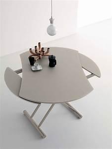 Table De Salon Transformable : table transformable italienne ~ Teatrodelosmanantiales.com Idées de Décoration