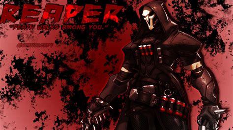 Reaper Anime Wallpaper - reaper overwatch wallpaper 183 free amazing