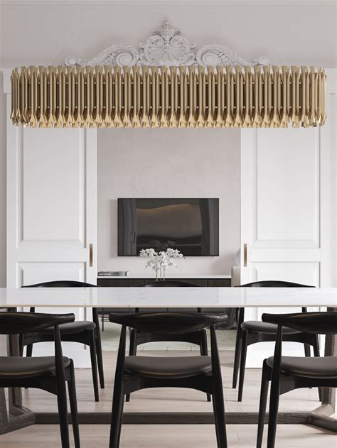 white gold classic interior design project you ll