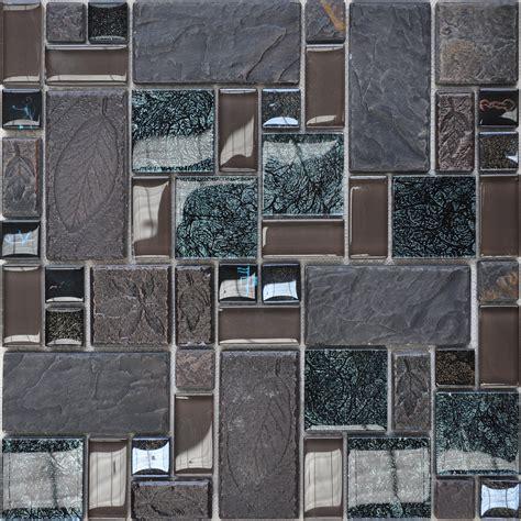 kitchen backsplash tile stickers porcelain and glass tiles wall bathroom backsplash leaves patterns design mosaic tiles kitchen