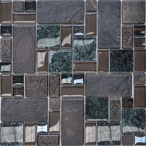 home interior decorating catalog wholesale porcelain glass tile wall backsplash grey