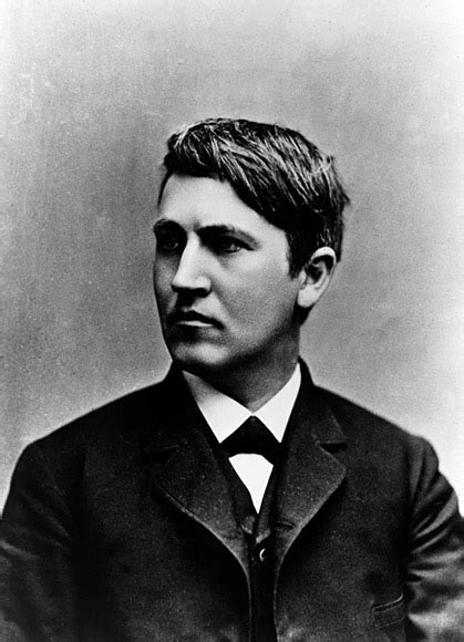 The Electric Light Bulb Inventor Thomas Alva Edison