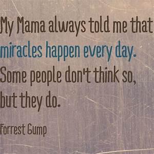 Forrest Gump quote! Better believe it!   words   Pinterest ...