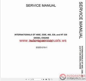 International Truck Dt466e Engine Repair Manual