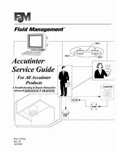 Accutinter U00ae Service Guide