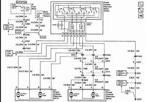 Power Window Wiring Diagram