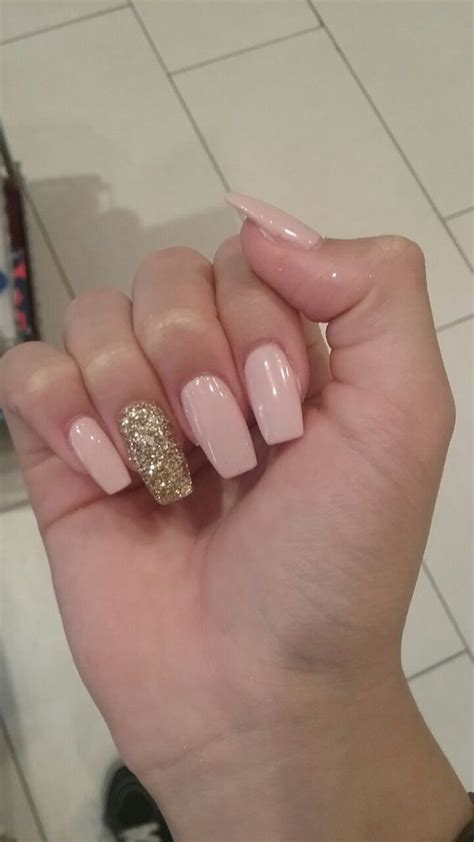 glitter gel nail designs  short nails  spring