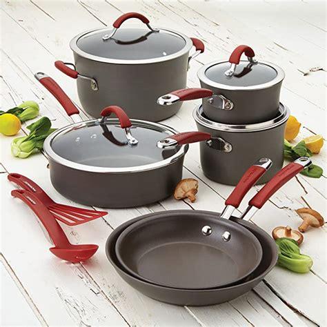 rachael ray cucina  stick cookware set review september