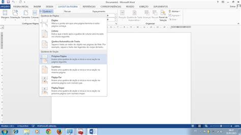 como numerar e não numerar as paginas no tcc monograf como numerar páginas a partir da introdução word 2013