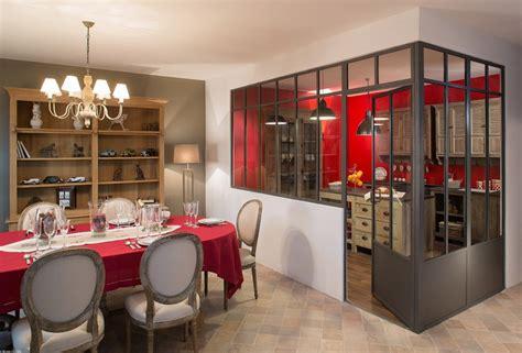 cuisine avec verri鑽e separation vitree cuisine maison design sphena com