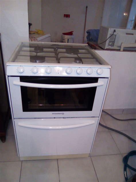 cuisiniere lave vaisselle integre achetez cuisini 232 re gaz plus occasion annonce vente 224 miribel 01 wb157944608