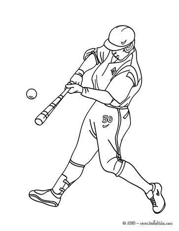 batter coloring page baby baseball coloring pages