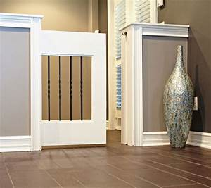 pet gates 5 clever creative solutions With dog door solutions