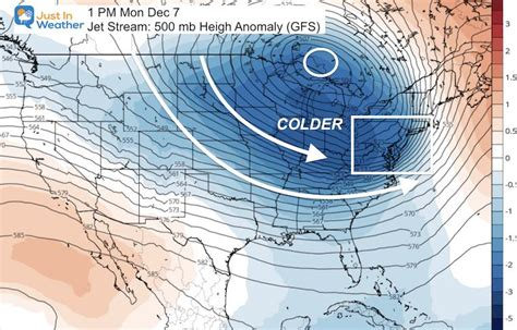 December Weather Pattern Looks A Little More Wintry – Just ...