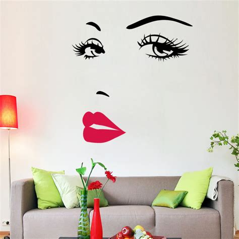 marilyn home decor marilyn quotes vinyl wall stickers mural