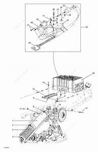 Ski Doo 1999 Grand Touring - 700  Air Shock And Compressor
