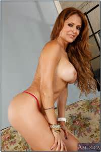 Redhead MILF Chick Monique Fuentes Boned From Behi